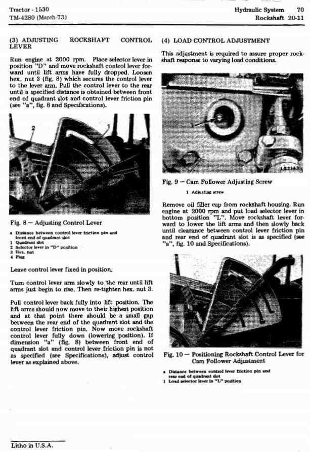 TM4280 - John Deere 1530 Tractors Technical Service Manual - 3