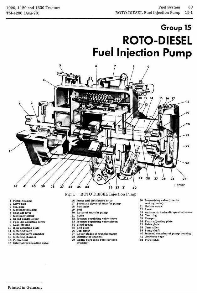 TM4286 - John Deere 1020, 1120, 1630 Tractors Technical Service Manual - 1