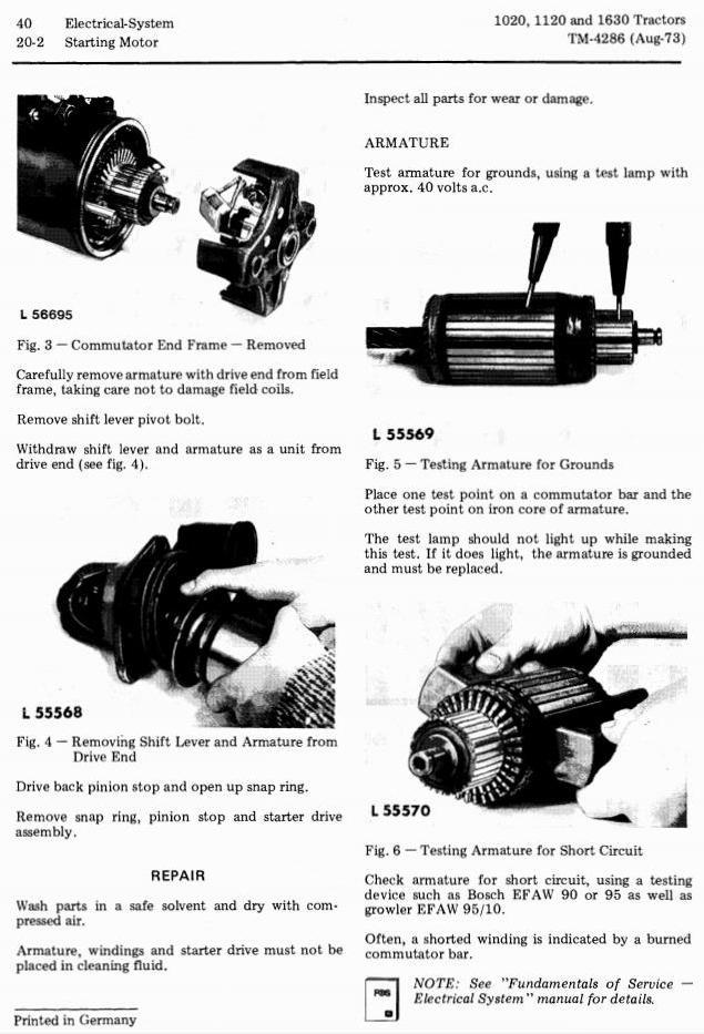 TM4286 - John Deere 1020, 1120, 1630 Tractors Technical Service Manual - 2