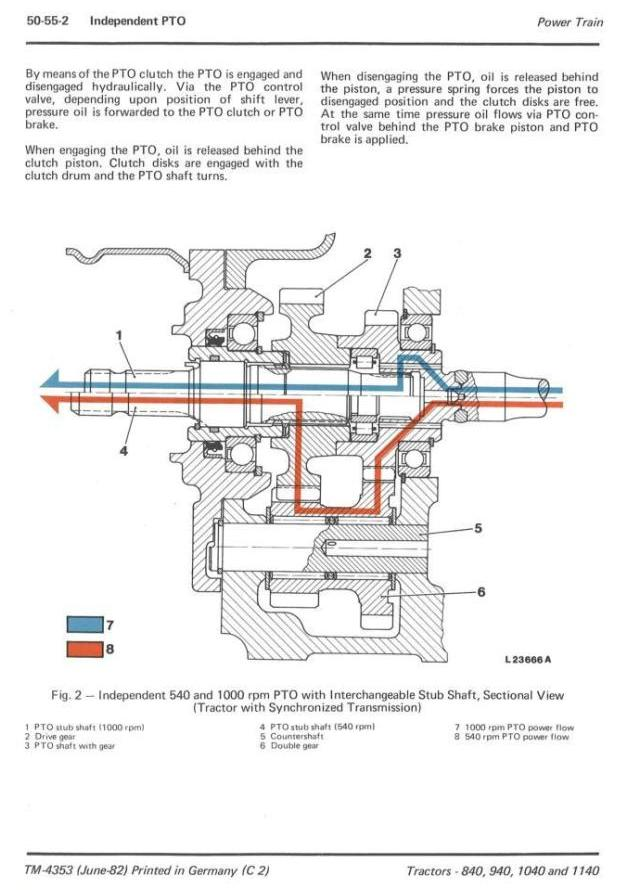 TM4353 - John Deere 840, 940, 1040 & 1140 Tractors Technical Service Manual - 2