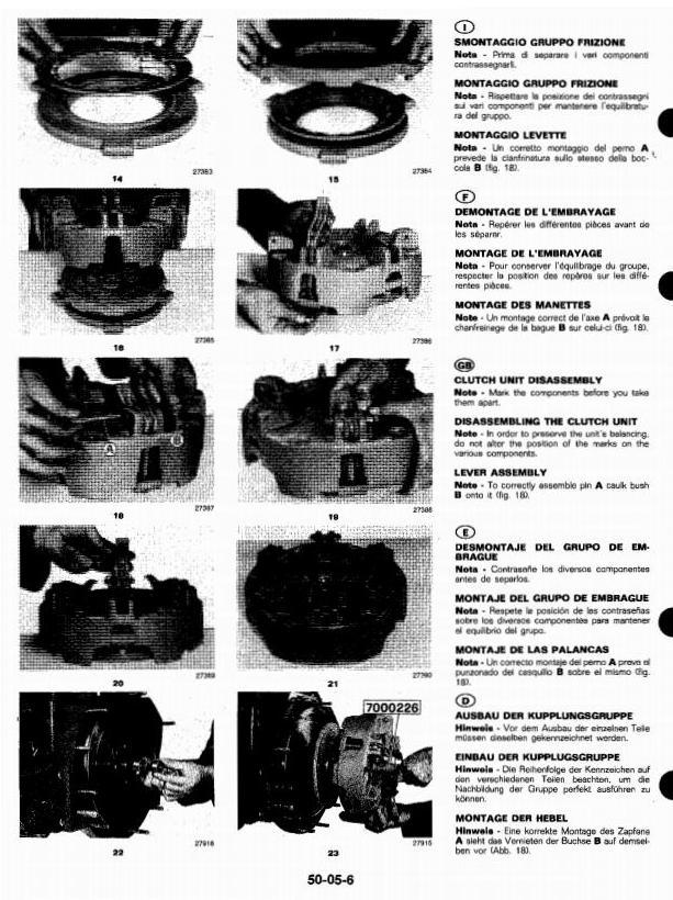 TM4481 - John Deere 1445F, 1745F, 1845F, 2345F Tractors Technical Service Manual - 1
