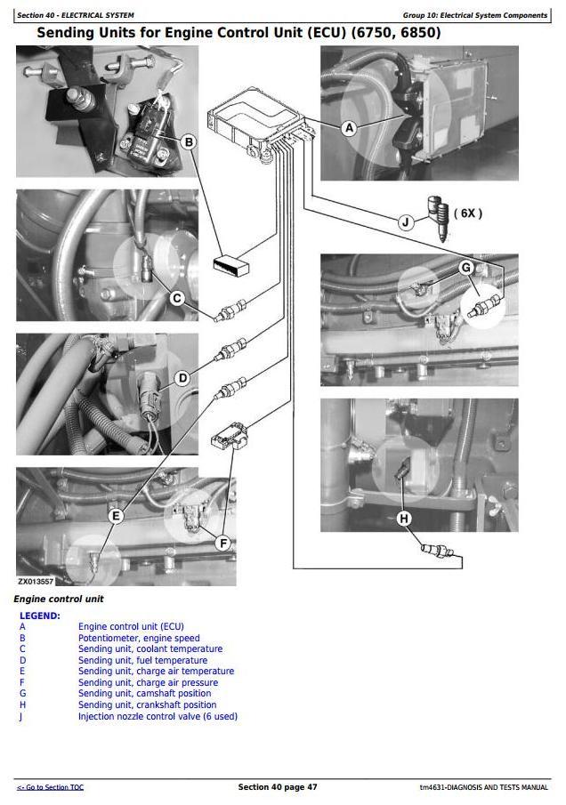 TM4631 - John Deere 6650, 6750, 6850, 6950 Self-Propelled Forage Harvester (SN.504341-) Diagnostic Manual - 1