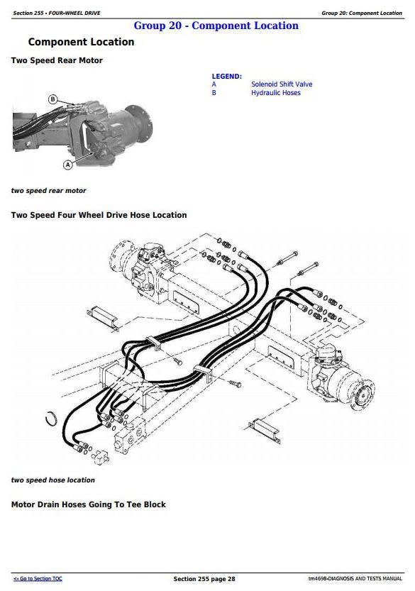 TM4698 - John Deere 9540, 9560, 9580, 9640, 9660, 9680 CWS & WTS Combines Diagnostic Service Manual - 2