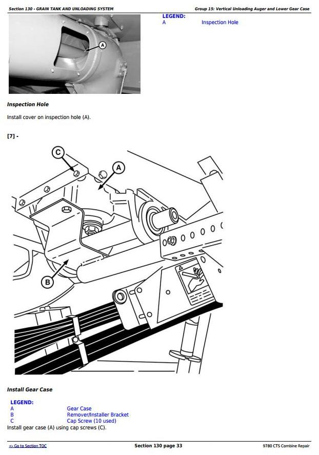 TM4712 - John Deere 9780 CTS Combine (SN. from 072800) Repair Technical Service Manual - 2
