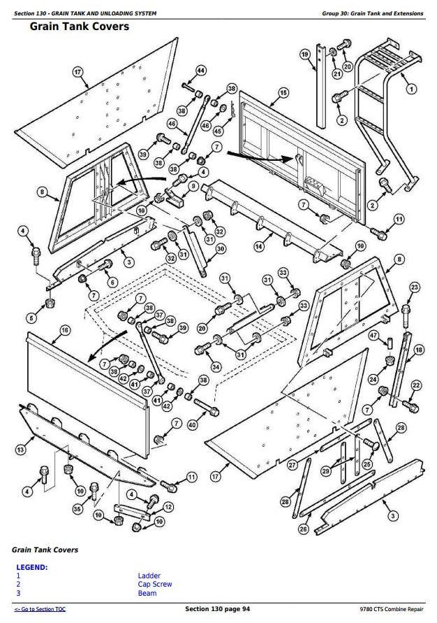 TM4712 - John Deere 9780 CTS Combine (SN. from 072800) Repair Technical Service Manual - 3