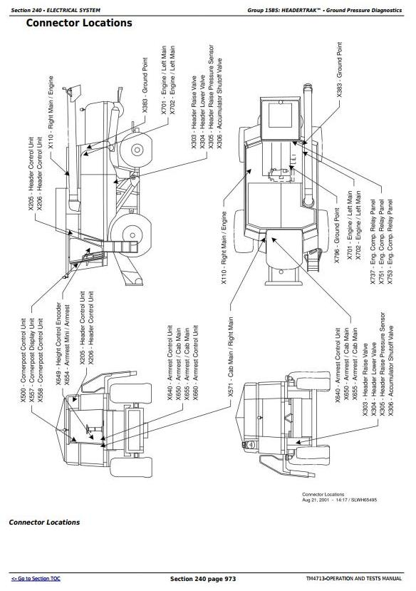 TM4713 - John Deere 9780 CTS Combines (European Version) Diagnosis and Tests Service Manual - 3