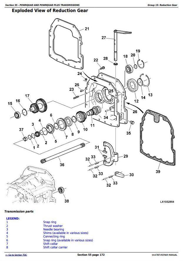 TM4787 - John Deere 5620, 5720 and 5820 2WD or MFWD Tractors Service Repair Manual - 1
