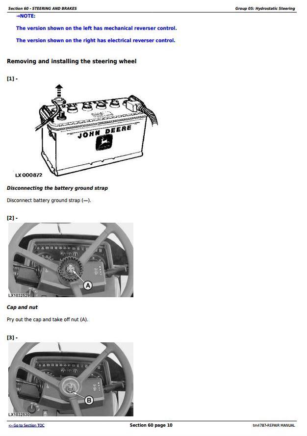TM4787 - John Deere 5620, 5720 and 5820 2WD or MFWD Tractors Service Repair Manual - 2