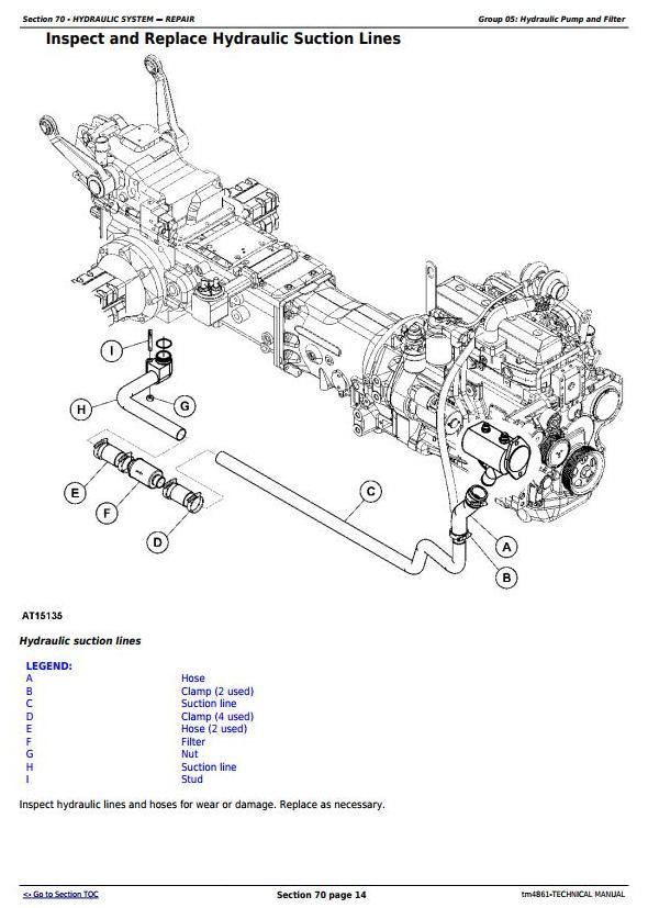 TM4861 - John Deere 5215F, 5315F, 5515F, 5615F, 5215V, 5315V, 5515V, 5615V Tractor Technical Service Manual - 1