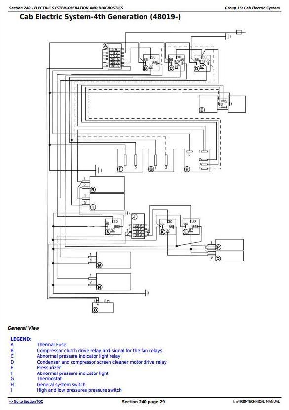 TM4930 - John Deere 1165, 1175 Combines (5.9L, 6.8L) , Diagnostic and Repair Technical Service Manual - 2