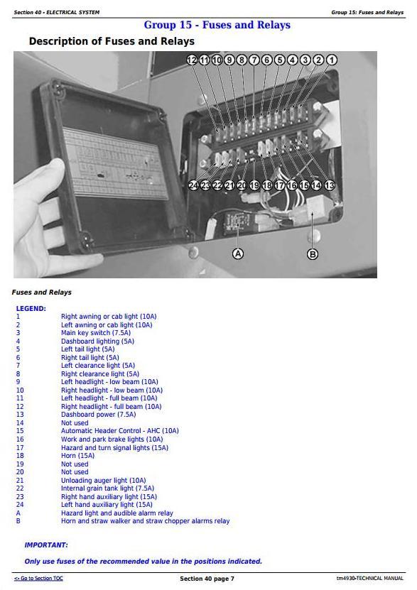 TM4930 - John Deere 1165, 1175 Combines (5.9L, 6.8L) , Diagnostic and Repair Technical Service Manual - 3