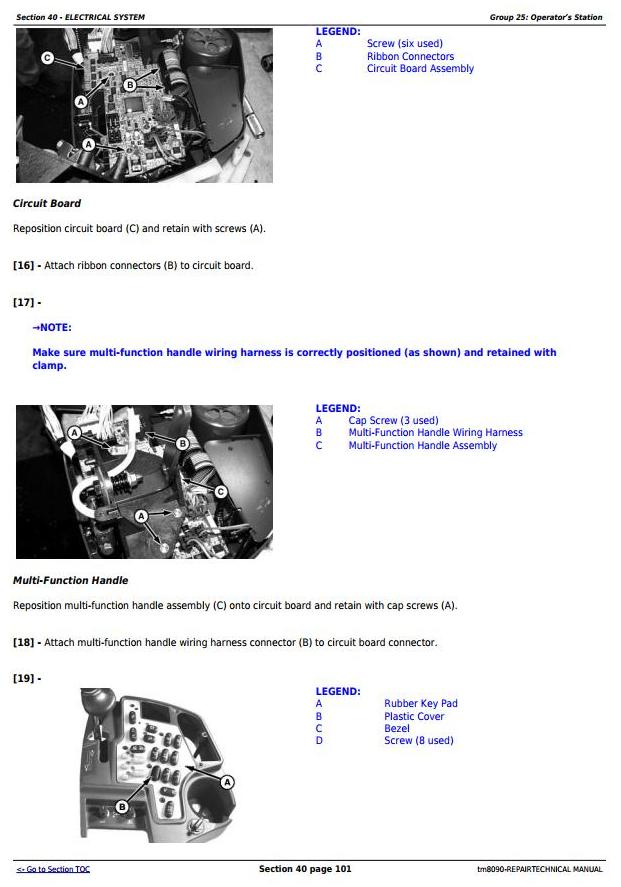 TM8090 - John Deere 9660, 9540i, 9560i, 9580i, 9640i, 9660i, 9680i WTS, 9780i CTS Combines Repair Manual - 1