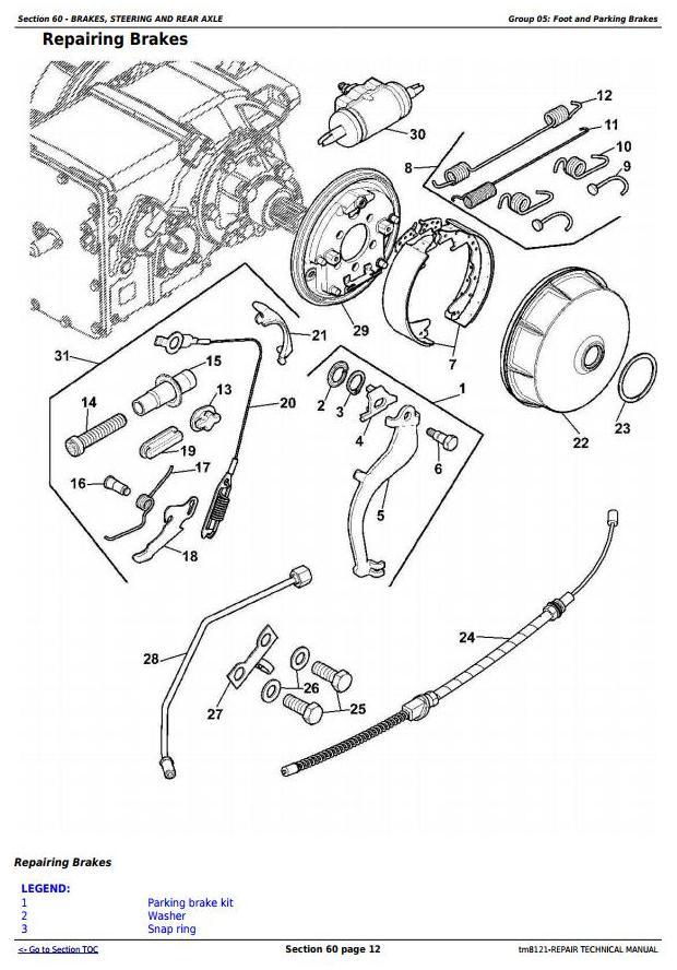 TM8121 - John Deere Combines 1450, 1550, 1450CWS, 1550CWS, 1450WTS, 1550WTS Service Repair Manual - 1