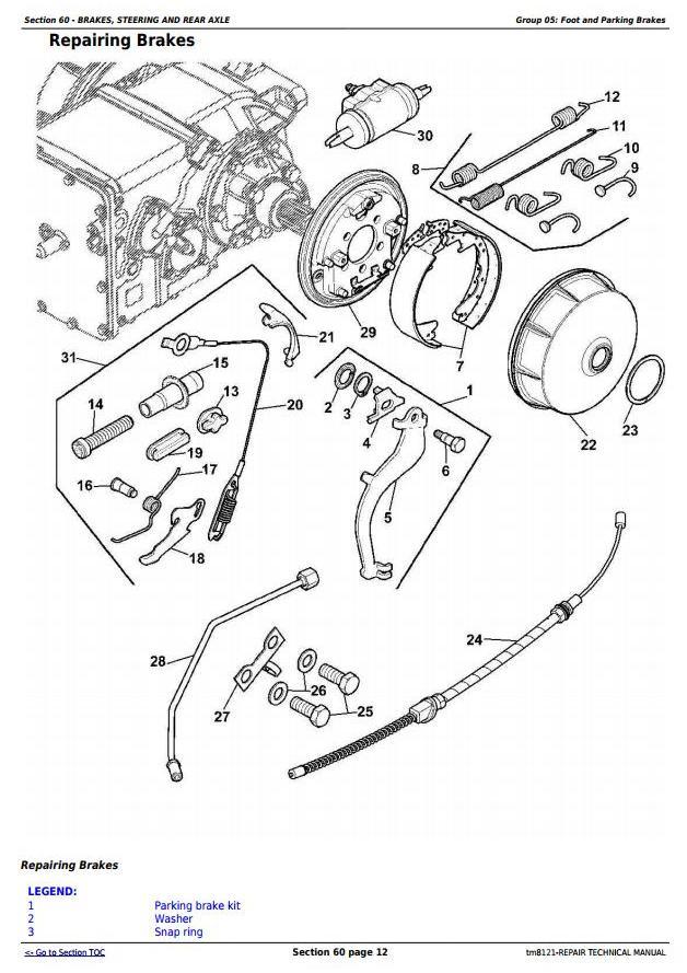 TM8121 - John Deere Combines 1450, 1550, 1450CWS, 1550CWS, 1450WTS, 1550WTS Service Repair Manual - 3