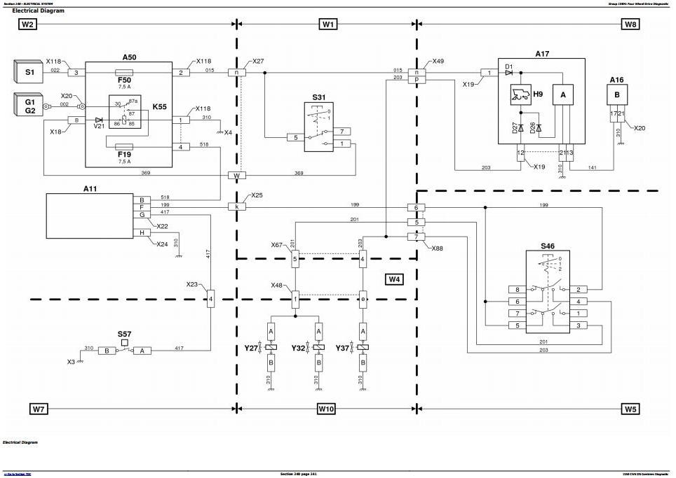 TM8243 - John Deere 1550CWS CIS Combines (S.N. from 060063) Diagnostic and Tests Service Manual - 2
