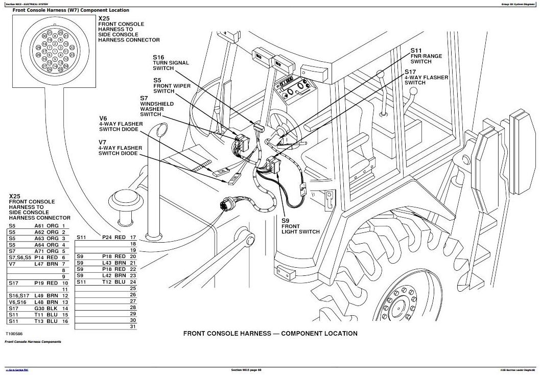 TM1610 - John Deere 410E Backhoe Loader Diagnostic, Operation and Test Service Manual - 17392