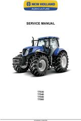 New Holland T7030, T7040, T7050, T7060 Tractor Service Manual