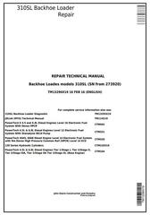 TM13296X19 - John Deere 310SL Backhoe Loader (SN: 273920-) Service Repair Technical Manual