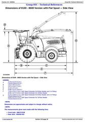 TM407019 - John Deere 8100, 8200, 8300, 8400, 8500, 8600, 8700, 8800 Forage Harvesters Diagnostic Manual