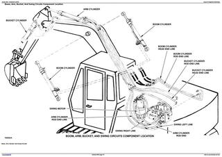 TM1442 - John Deere 290D Excavator Diagnostic, Operation and Test Manual
