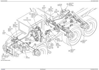 TM1813 - John Deere Bell B30C Articulated Dump Truck Diagnostic, Operation and Test Service Manual