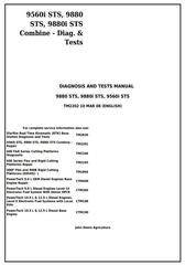 TM2202 - John Deere 9560i STS, 9880 STS, 9880i STS Combines Diagnostc and Tests Service Manual
