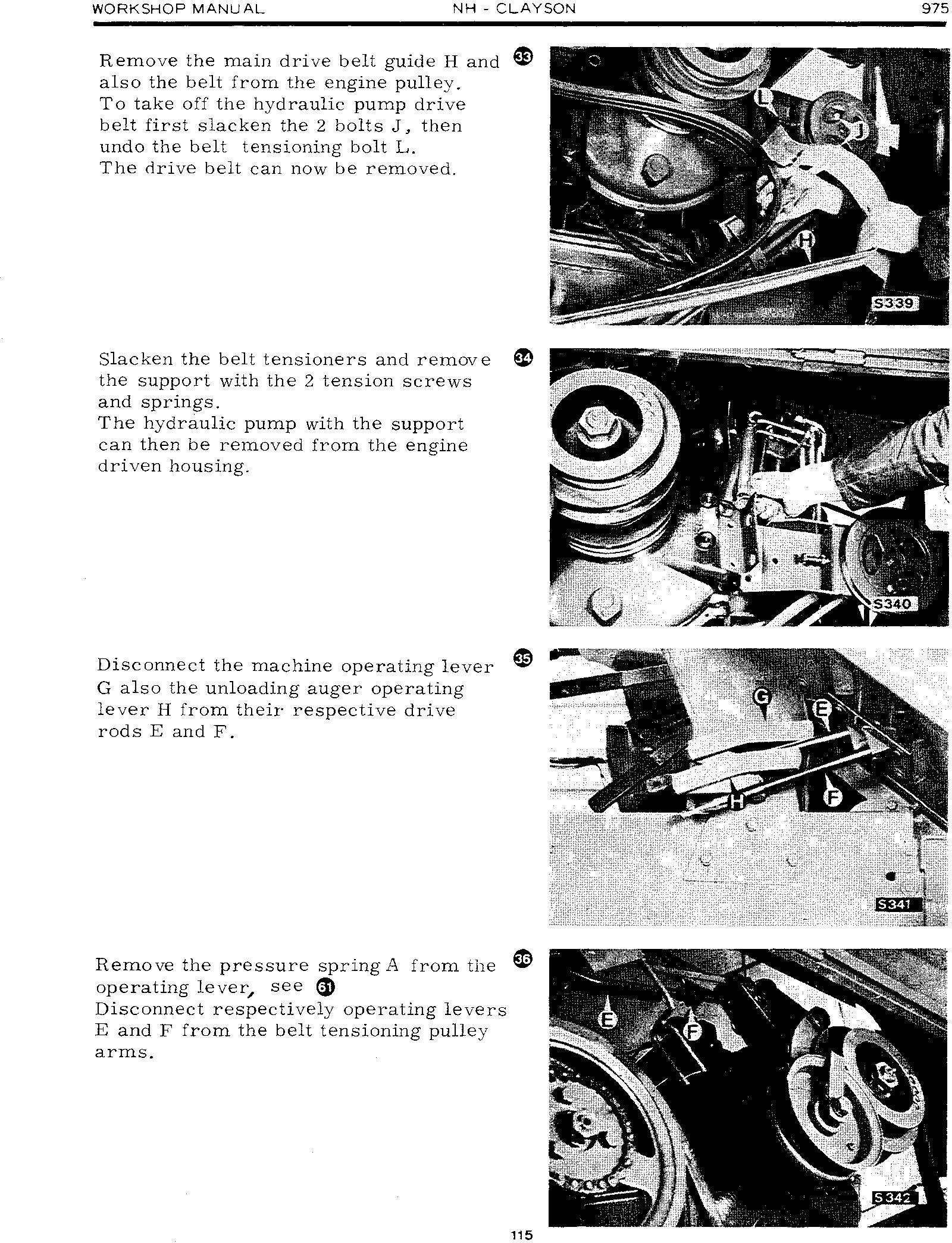 New Holland Workshop Manual 975 Combine Service Manual - 3