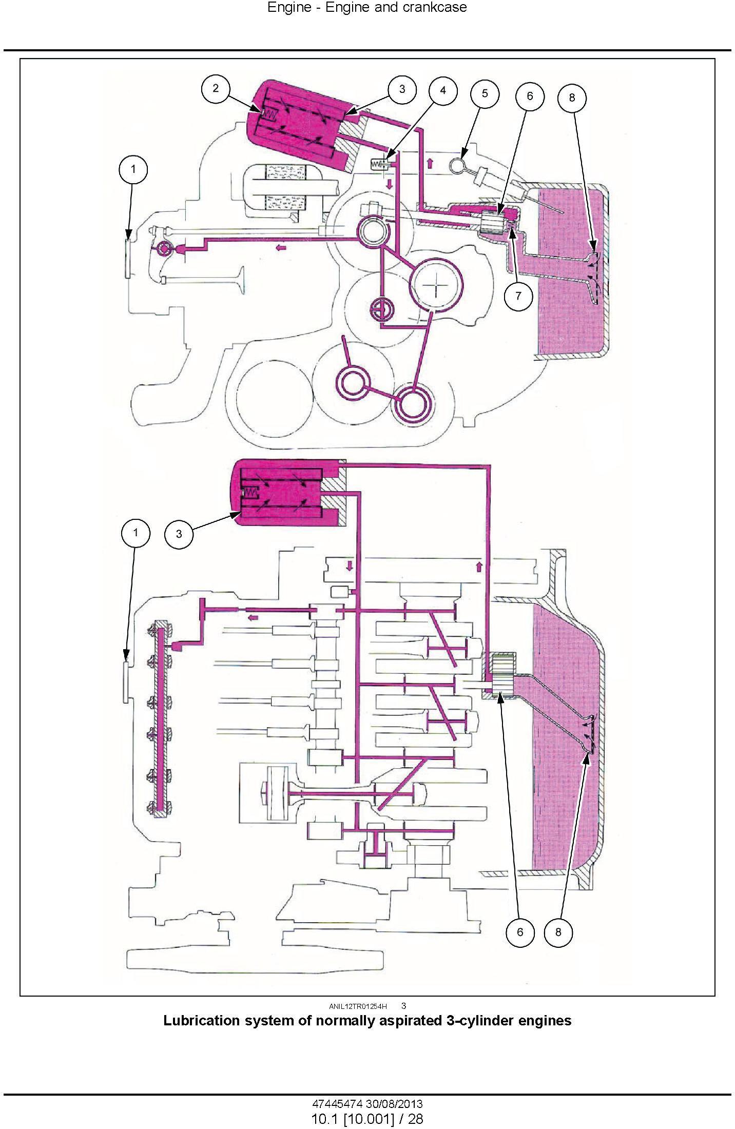 New Holland TD5.65, TD5.75, TD5.85, TD5.95, TD5.105, TD5.115 Tractor Service Manual - 2