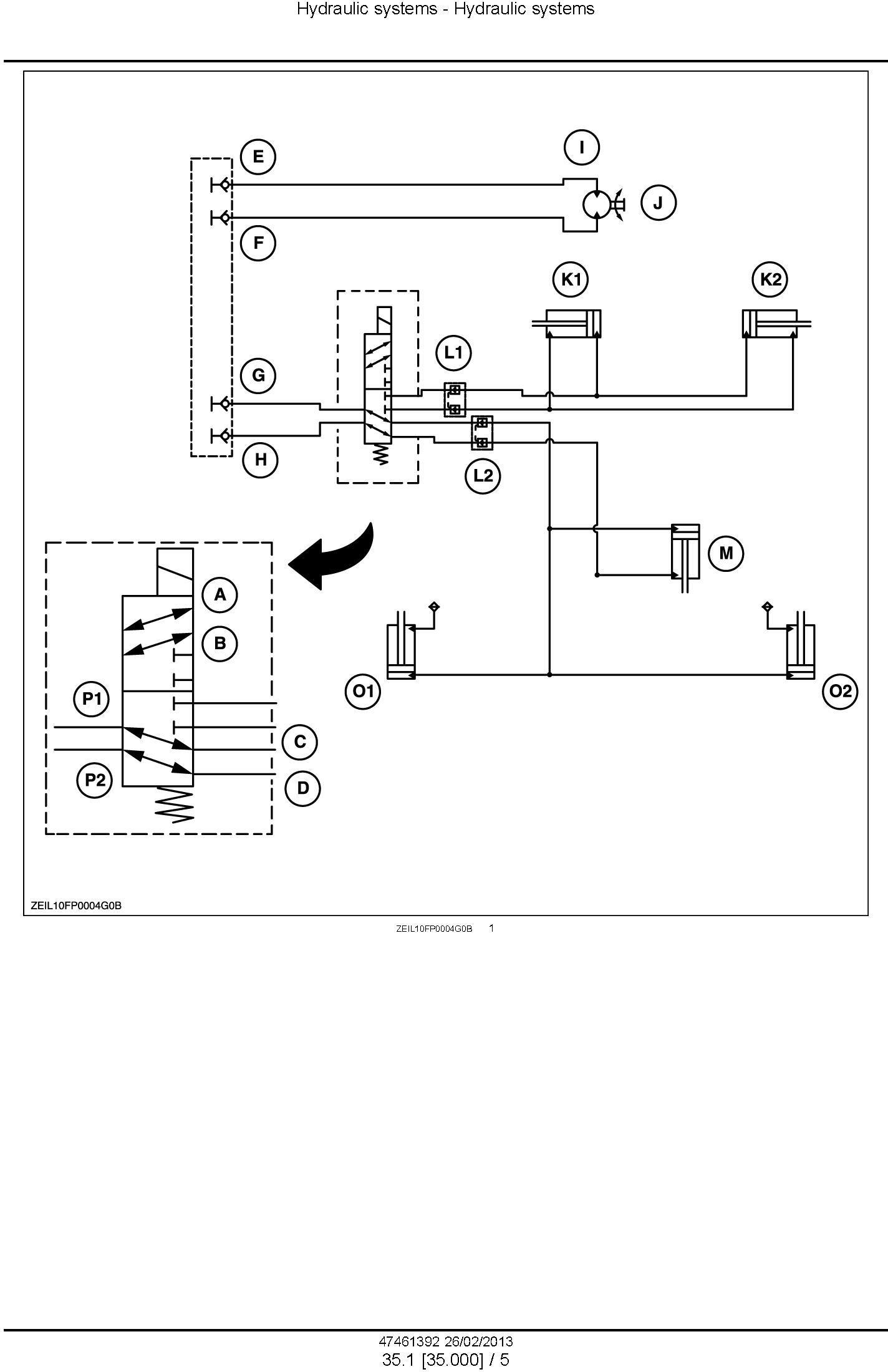 New Holland 300FP, 380FP Header Service Manual - 2