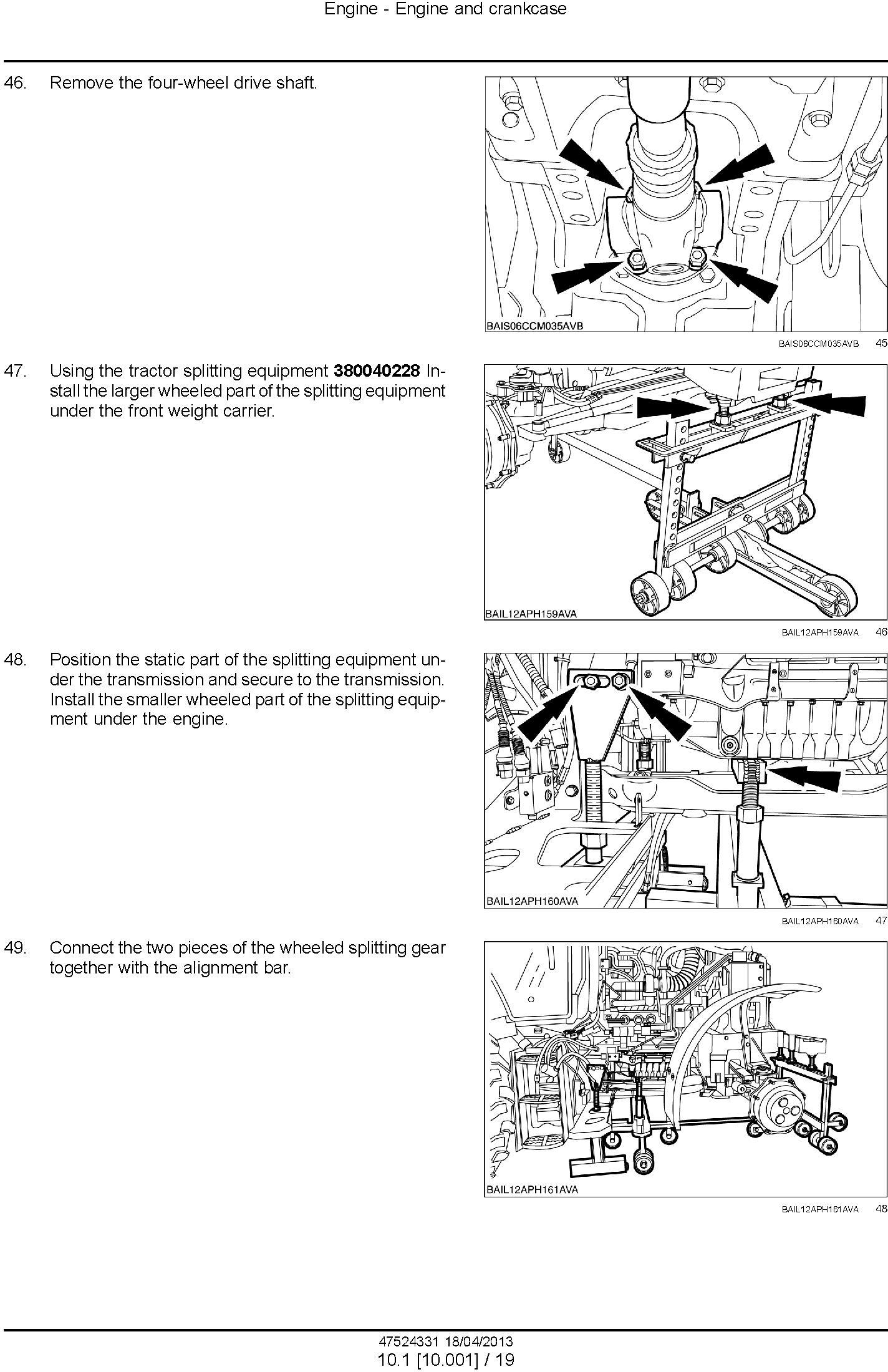 New Holland T7.220, T7.235, T7.250, T7.260, T7.270 Auto Command/Power Command Tractor Service Manual - 1