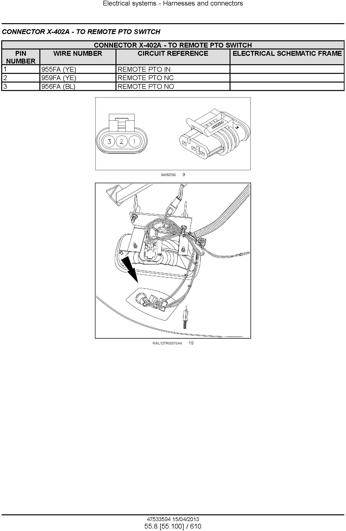 New Holland T8.275, T8.300, T8.330, T8.360, T8.390 Tractor w. Powershift Transmission Service Manual - 3