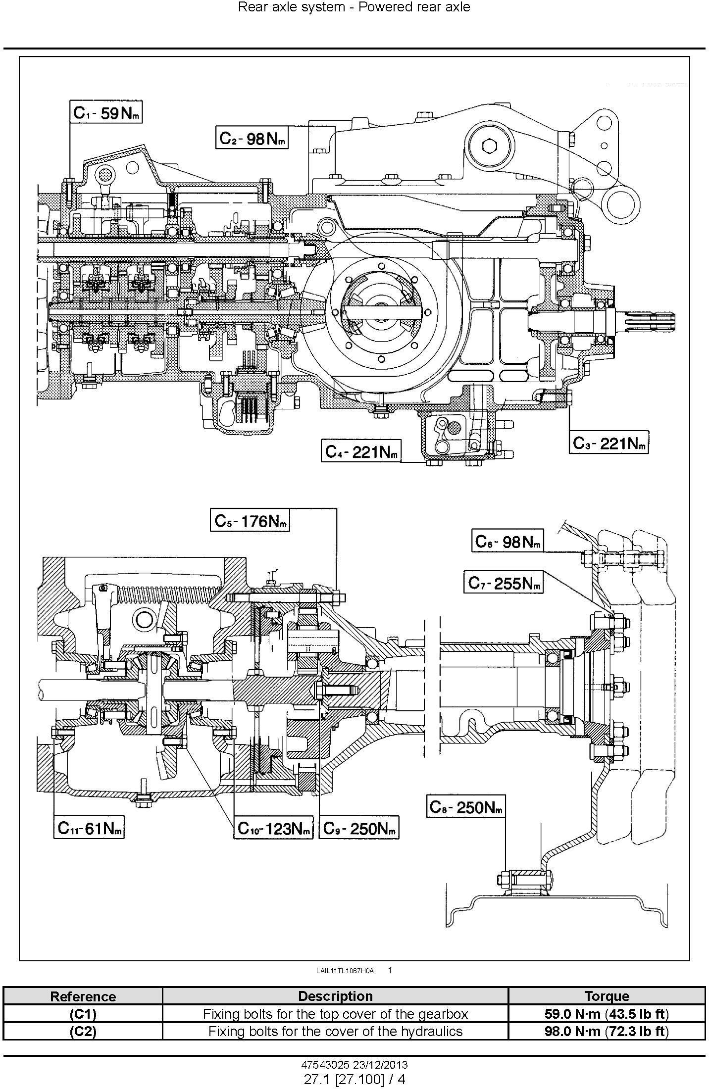 New Holland TL75E, TL85E, TL95E Power Shuttle Latin American Tractor Service Manual - 3