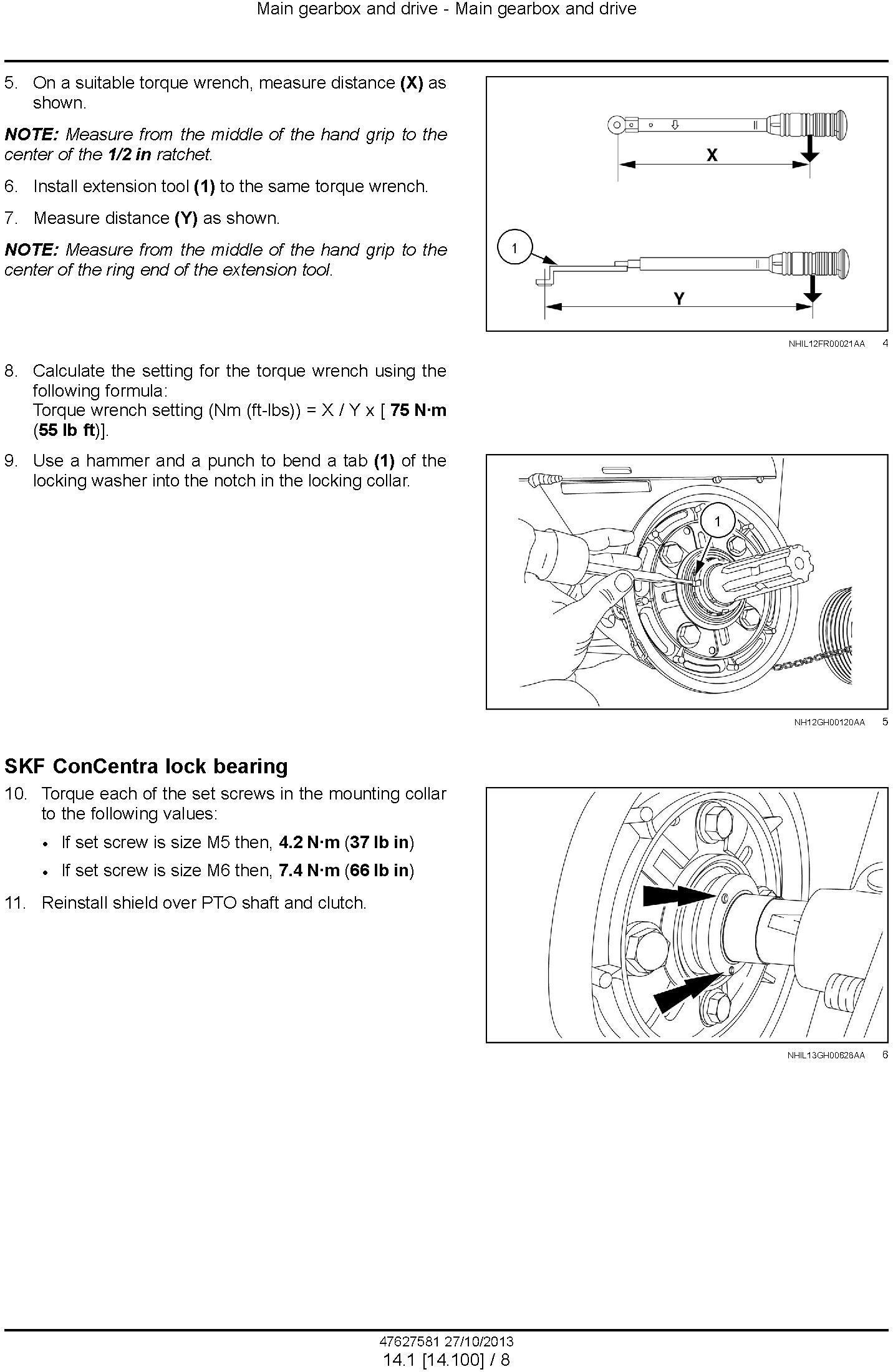 New Holland 740CF Super Flex Auger Header Service Manual - 3