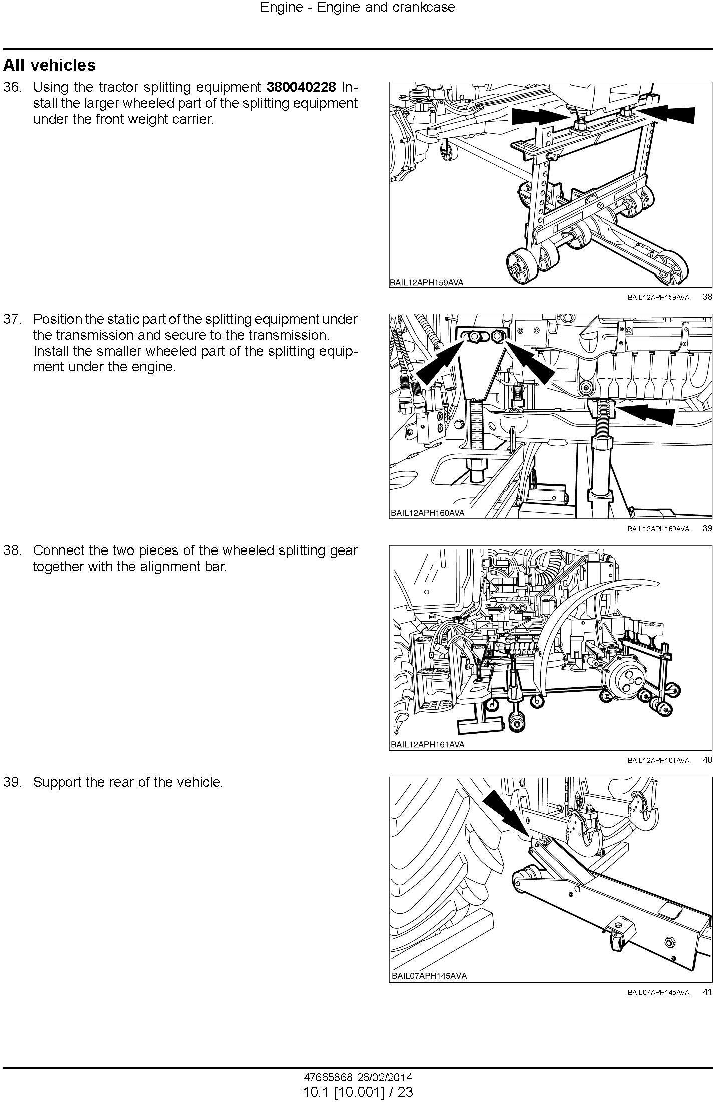 New Holland T6.120, T6.140, T6.150, T6.155, T6.160, T6.165,T6.175 All Regions Tractor Service Manual - 1