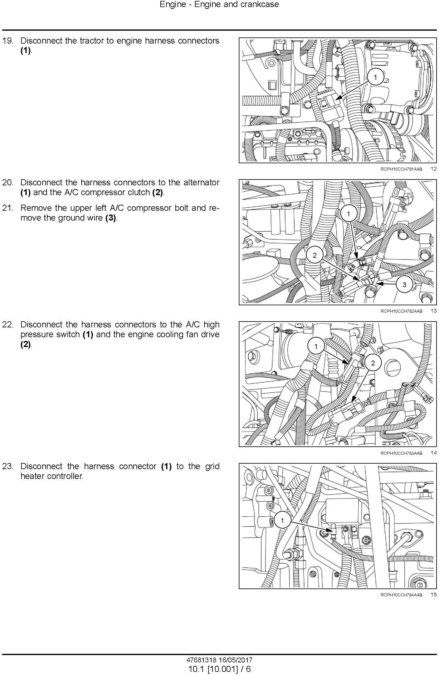 New Holland T8.295, T8.325, T8.355, T8.385 Tier 3 Tractor Service Manual (Latin America) - 1