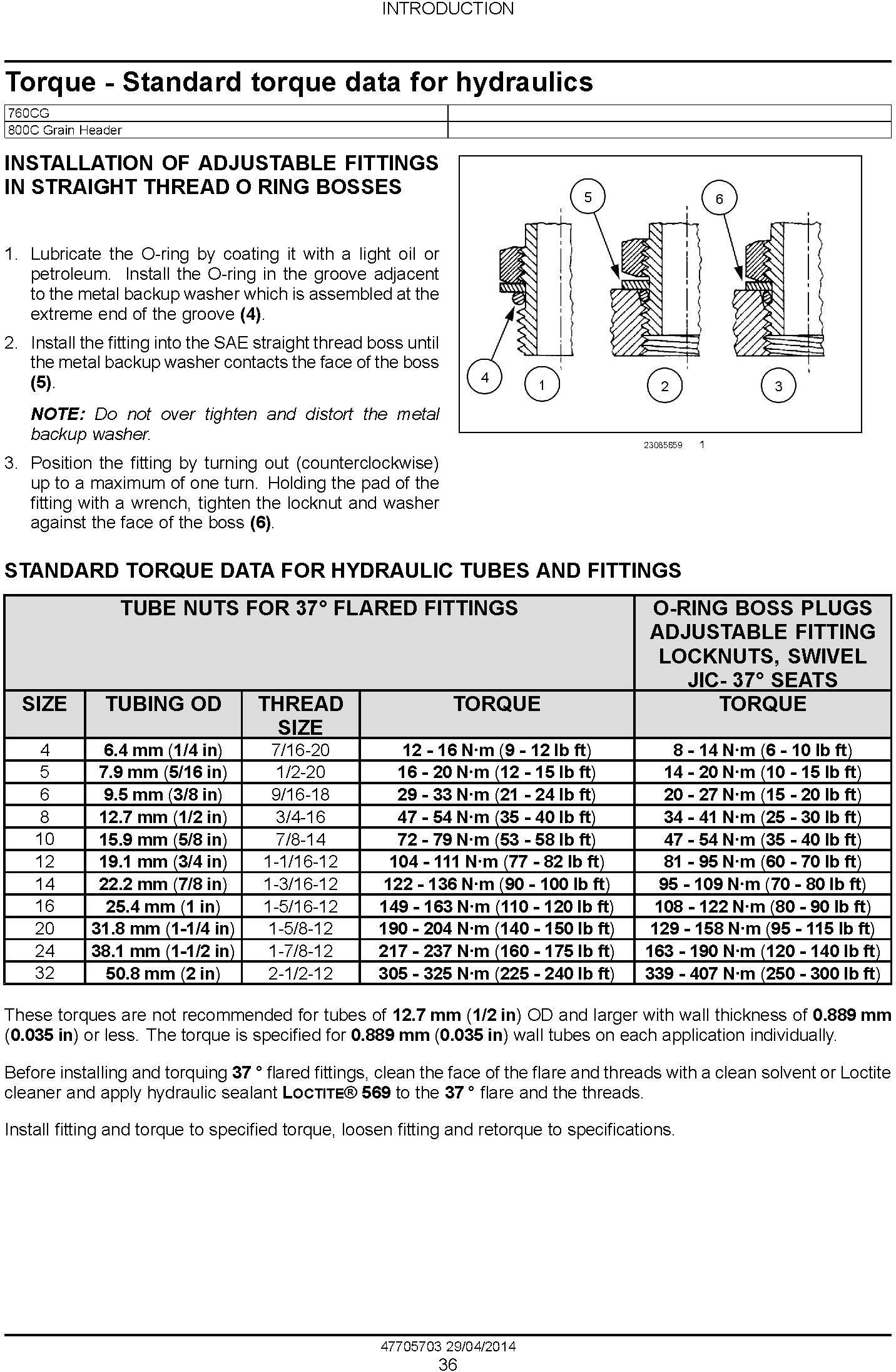 New Holland VariFeed 760CG Grain Header Service Manual - 2