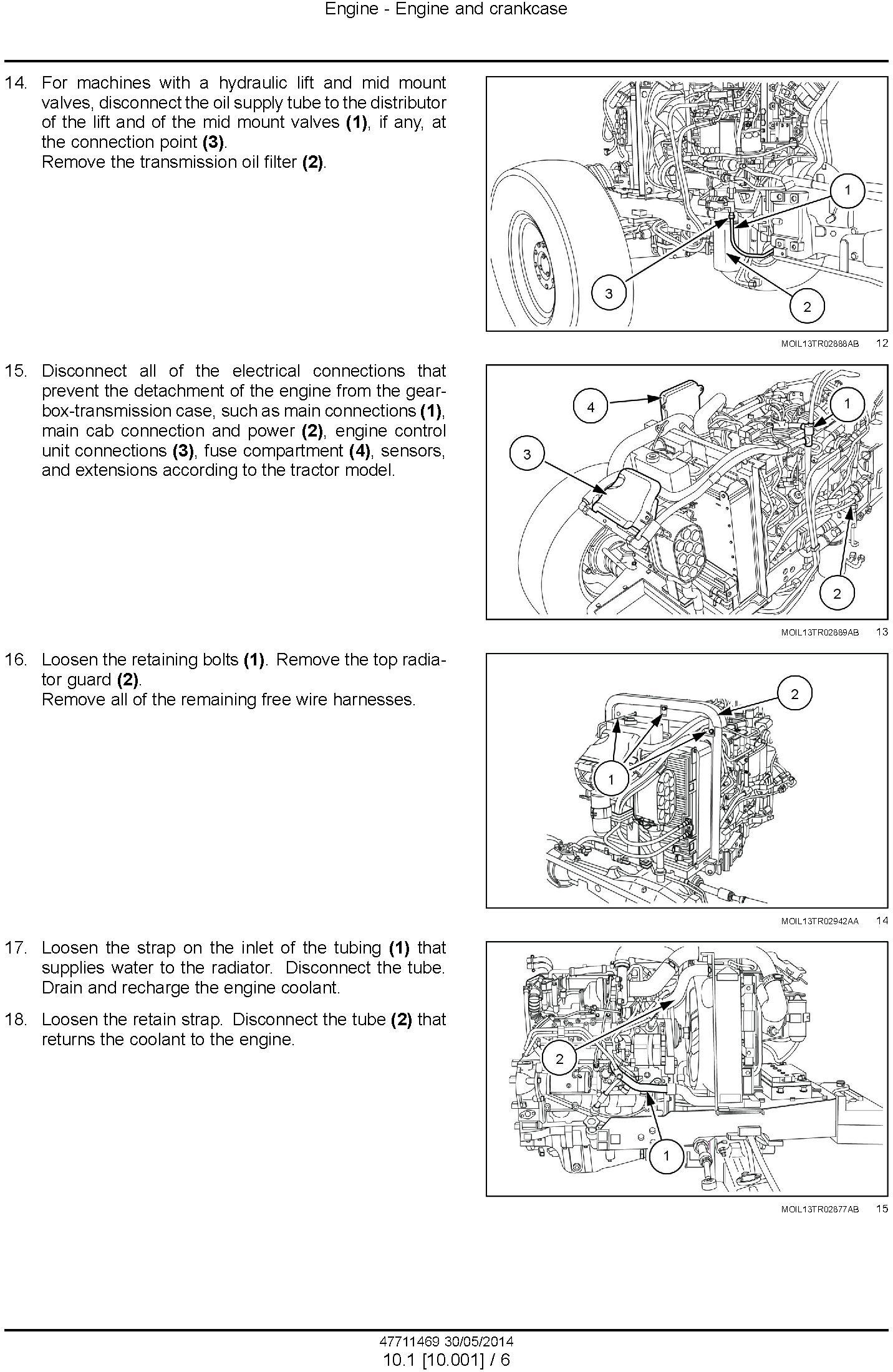 New Holland T4.75 POWERSTAR TIER 4B (FINAL) TRACTOR Complete Service Manual - 1