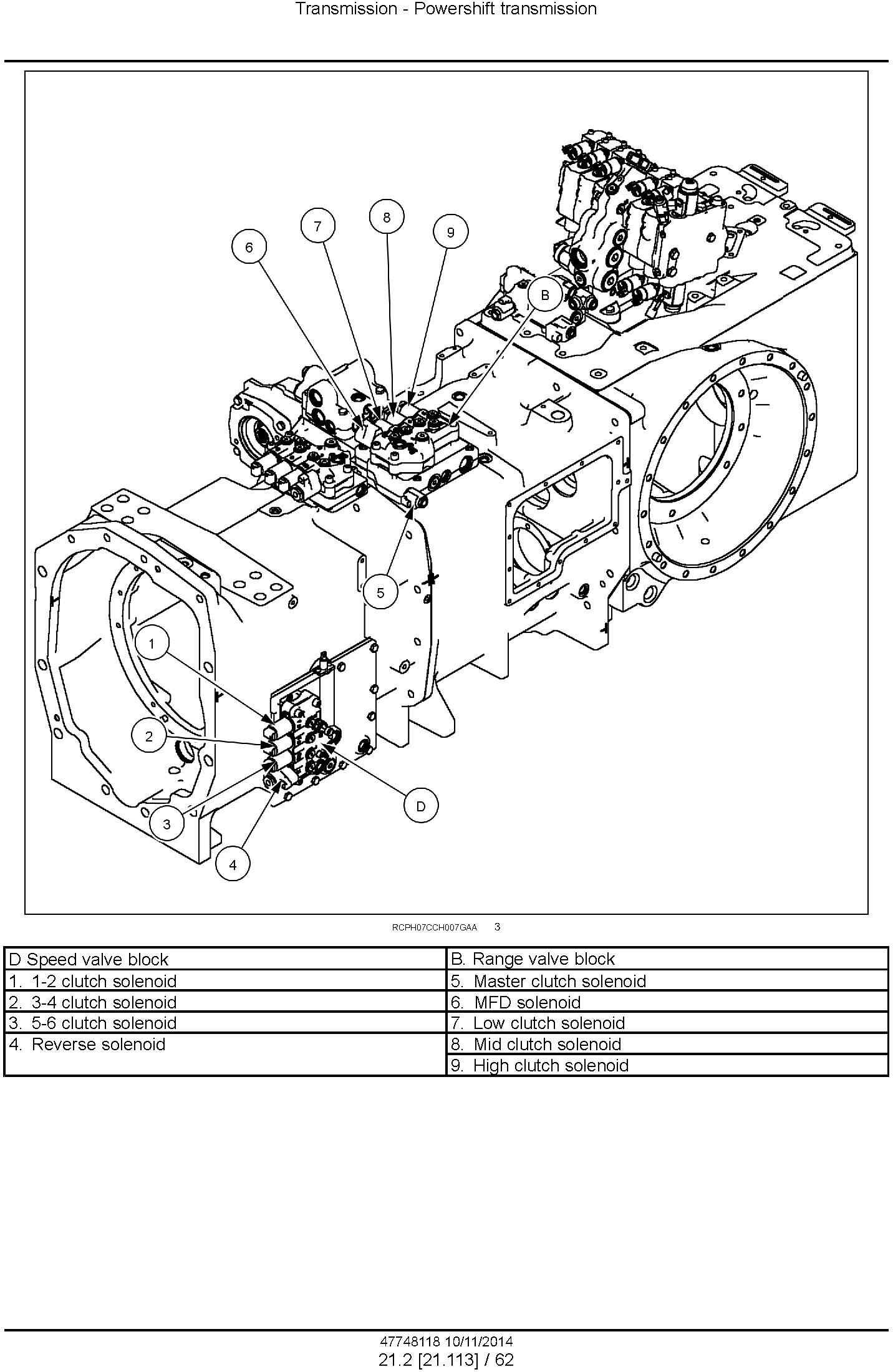 New Holland T8.320, T8.350, T8.380, T8.410 and SmartTrax Tractor w.PST Complete Service Manual (USA) - 2