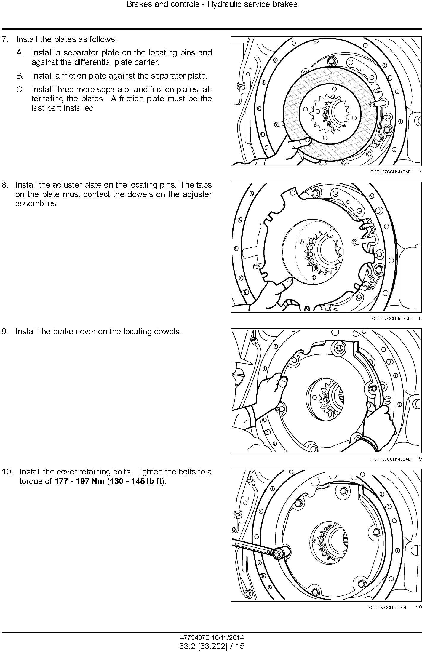 New Holland T8.320, T8.350, T8.380, T8.410 with Powershift Transmission Tractor Service Manual (EU) - 3