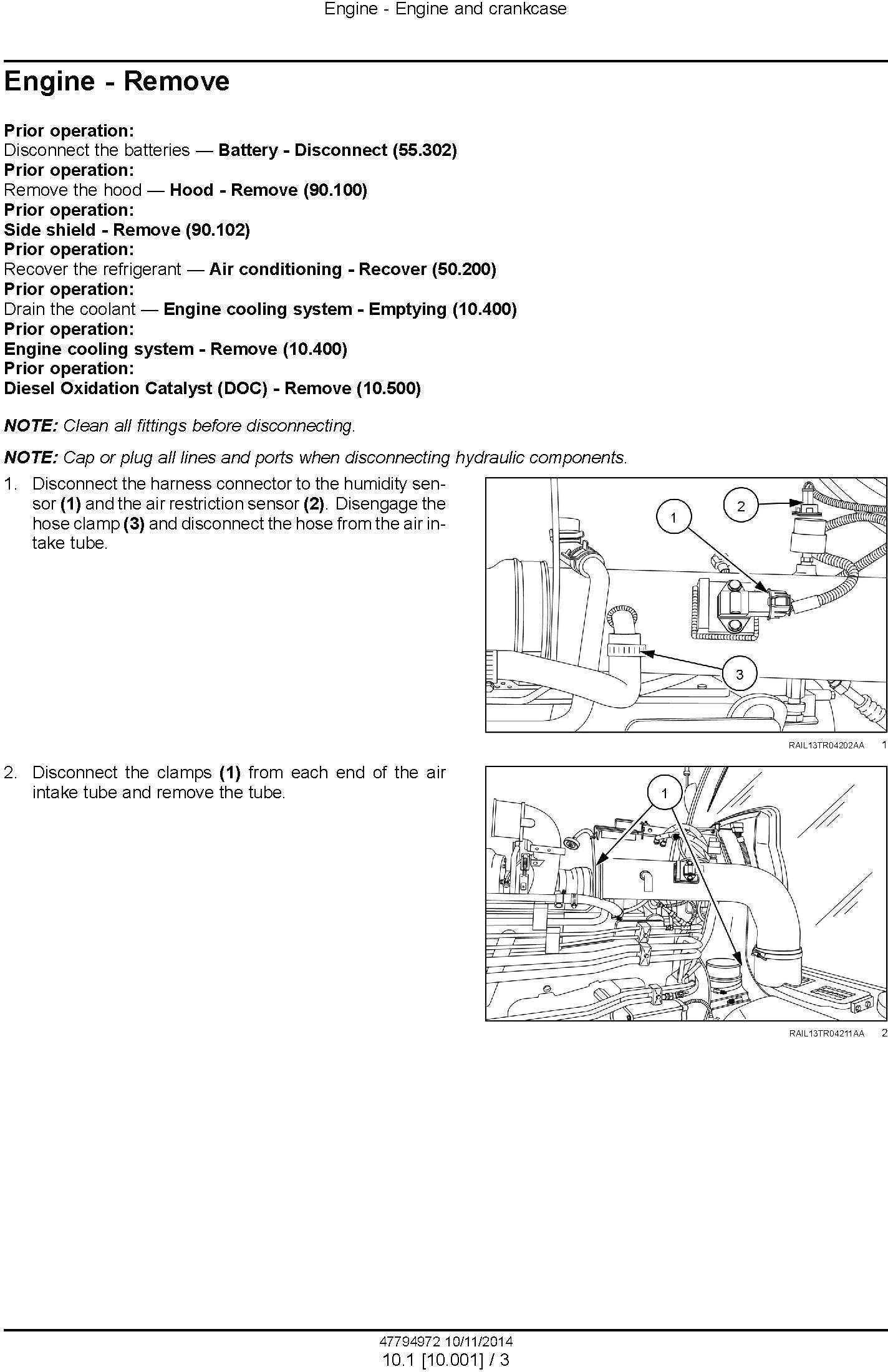 New Holland T8.320, T8.350, T8.380, T8.410 with Powershift Transmission Tractor Service Manual (EU) - 1