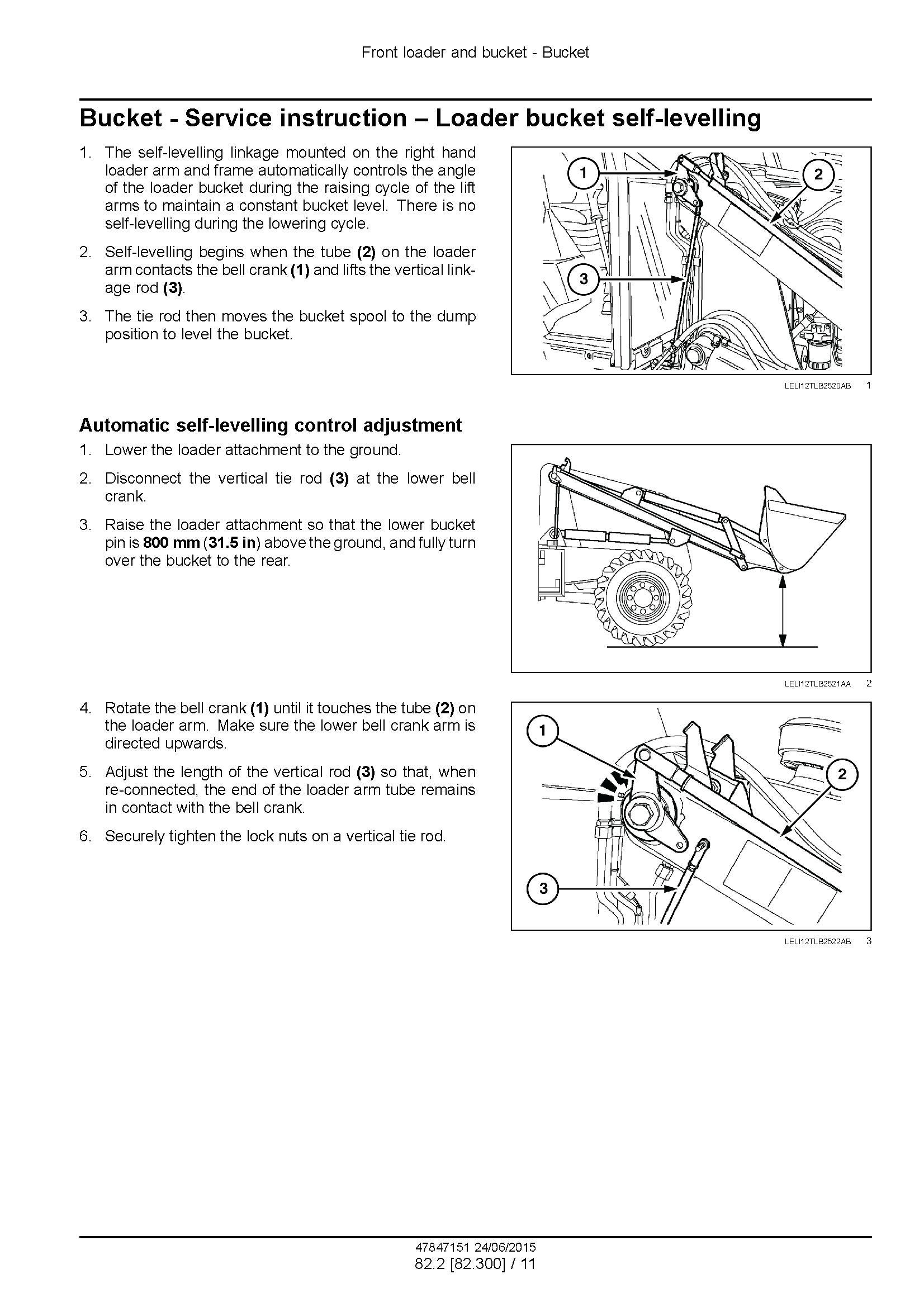 New Holland B100C, -LR -TC, B110C TC, B115C Stage III B Tractor loader backhoe Service Manual - 3