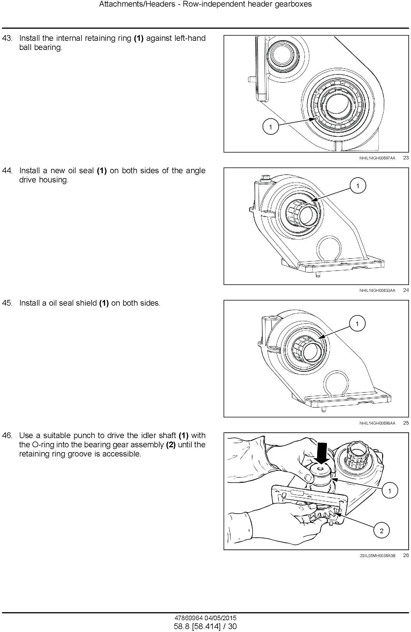 New Holland 980CF, 980CR Corn header Service Manual - 3