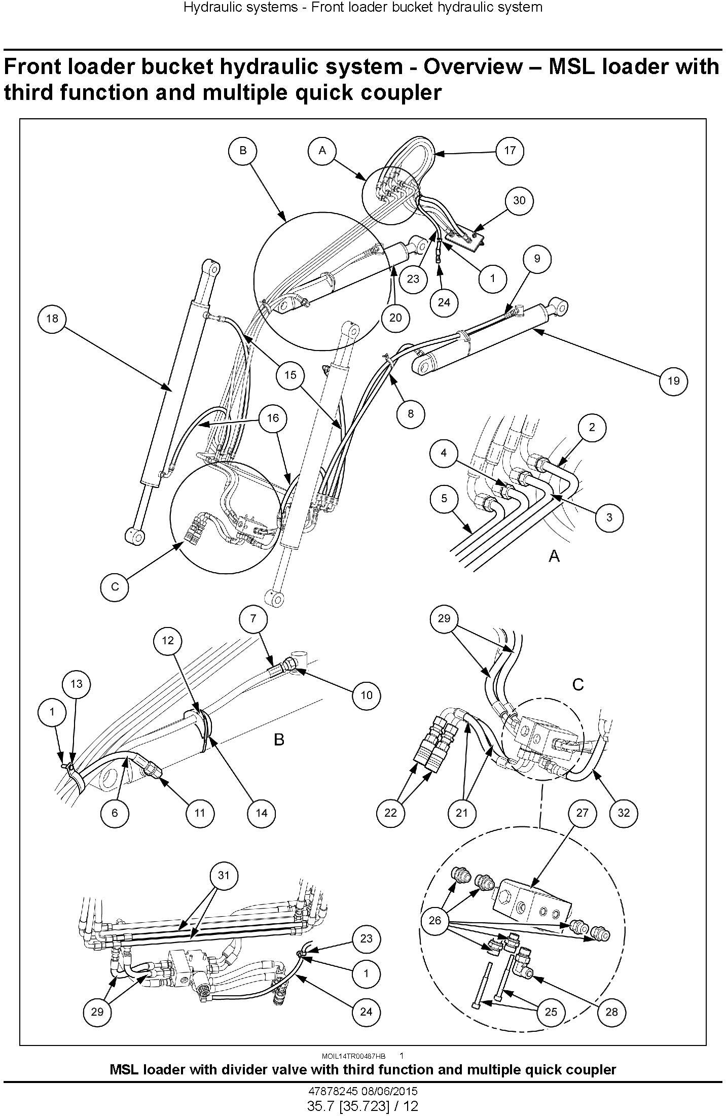 New Holland T4.90, T4.100, T4.110, T4.120 Tractor Tier 4B final Complete Service Manual (USA) - 3