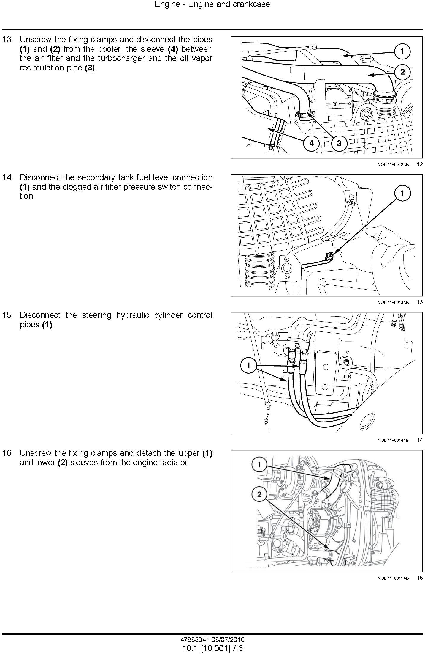 New Holland T4030F, T4040F, T4050F, T4060F Tier 3 Tractor Complete Service Manual (North America) - 1