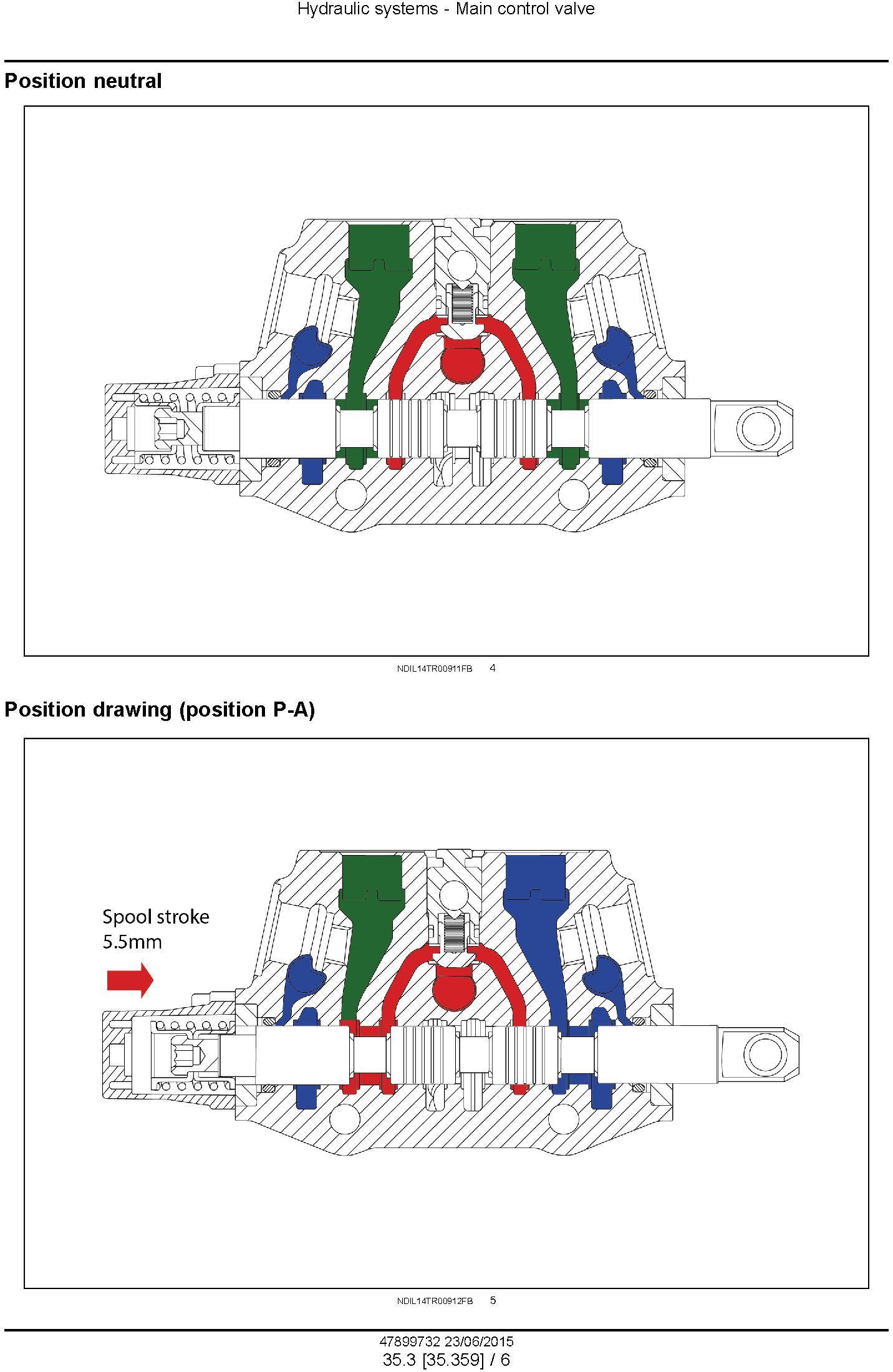 New Holland TT55, TT65, TT75 2WD and 4WD Tier 3 Tractors Service Manual - 3