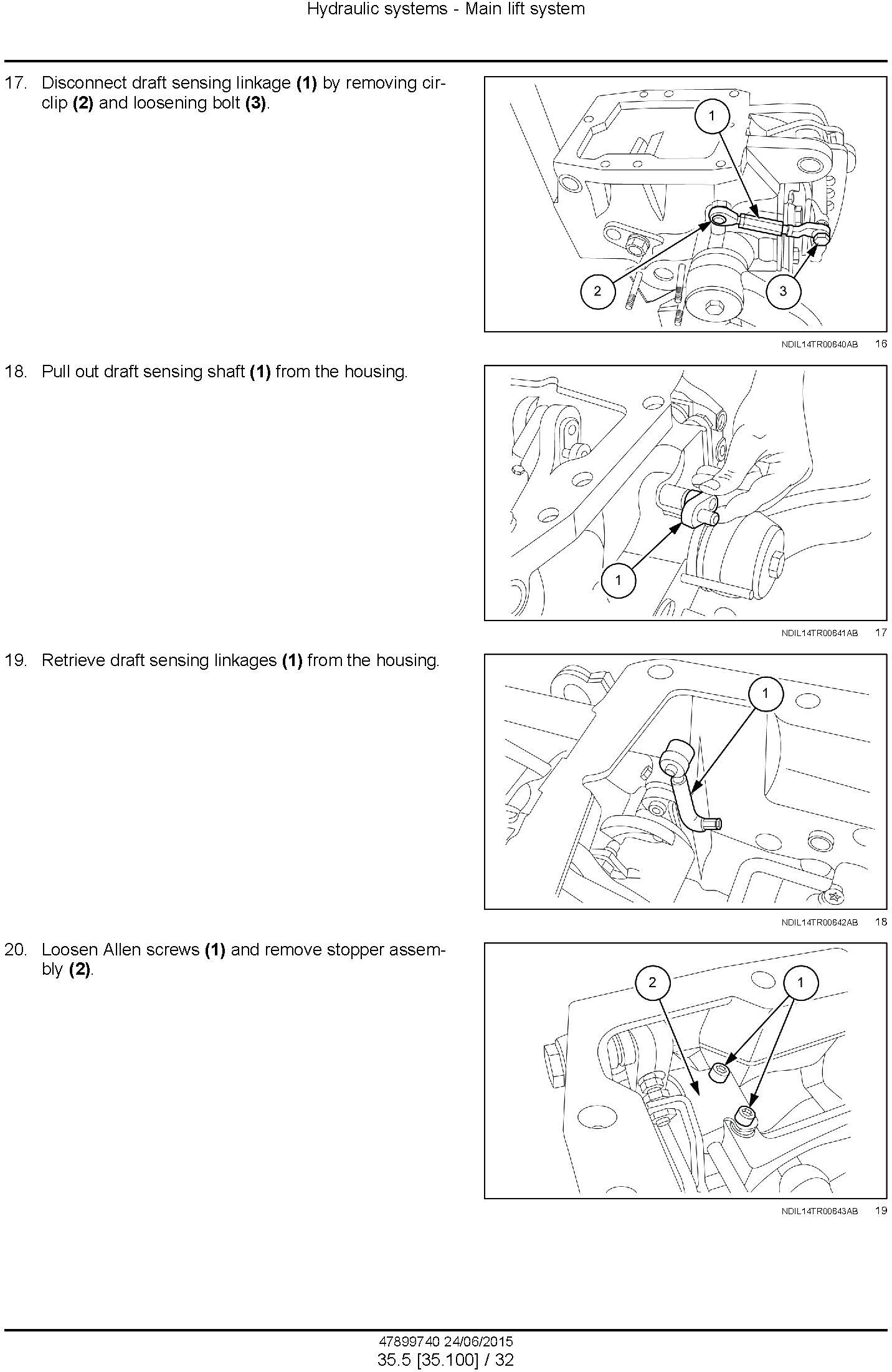 New Holland 5500, 6500, 7500 Tier 3 Tractor Service Manual - 3