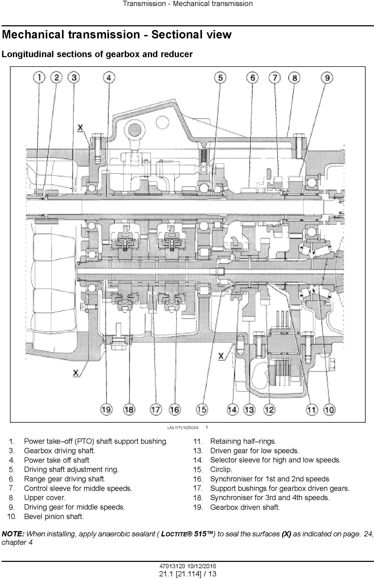 New Holland TD4.70F, TD4.80F, TD4.90F Tractor Service Manual - 3