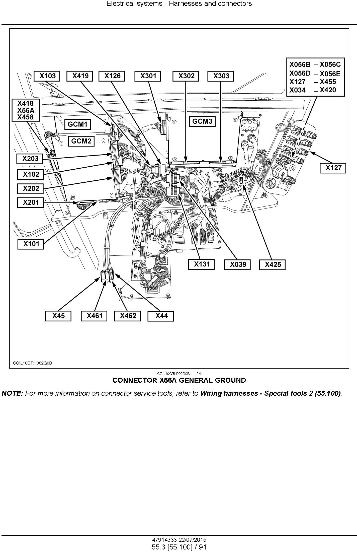 New Holland 9090X (GE,H,O,Coffee, Olive Plus, Olive Plus GE) Grape Harvester Complete Service Manual - 1