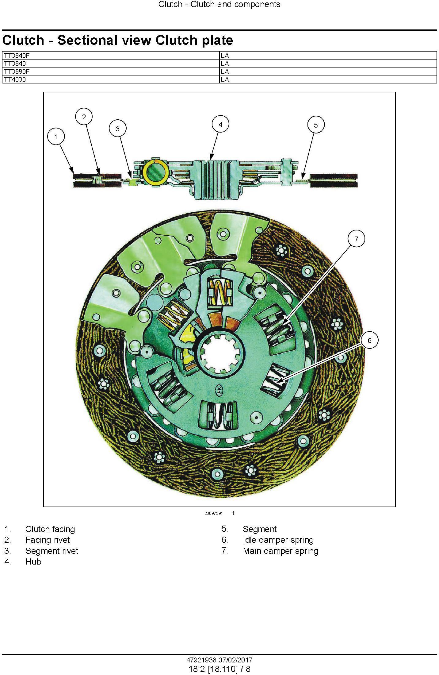 New Holland TT3840, TT3840F, TT4030, TT3880F Tractor Service Manual (Latin America) - 3