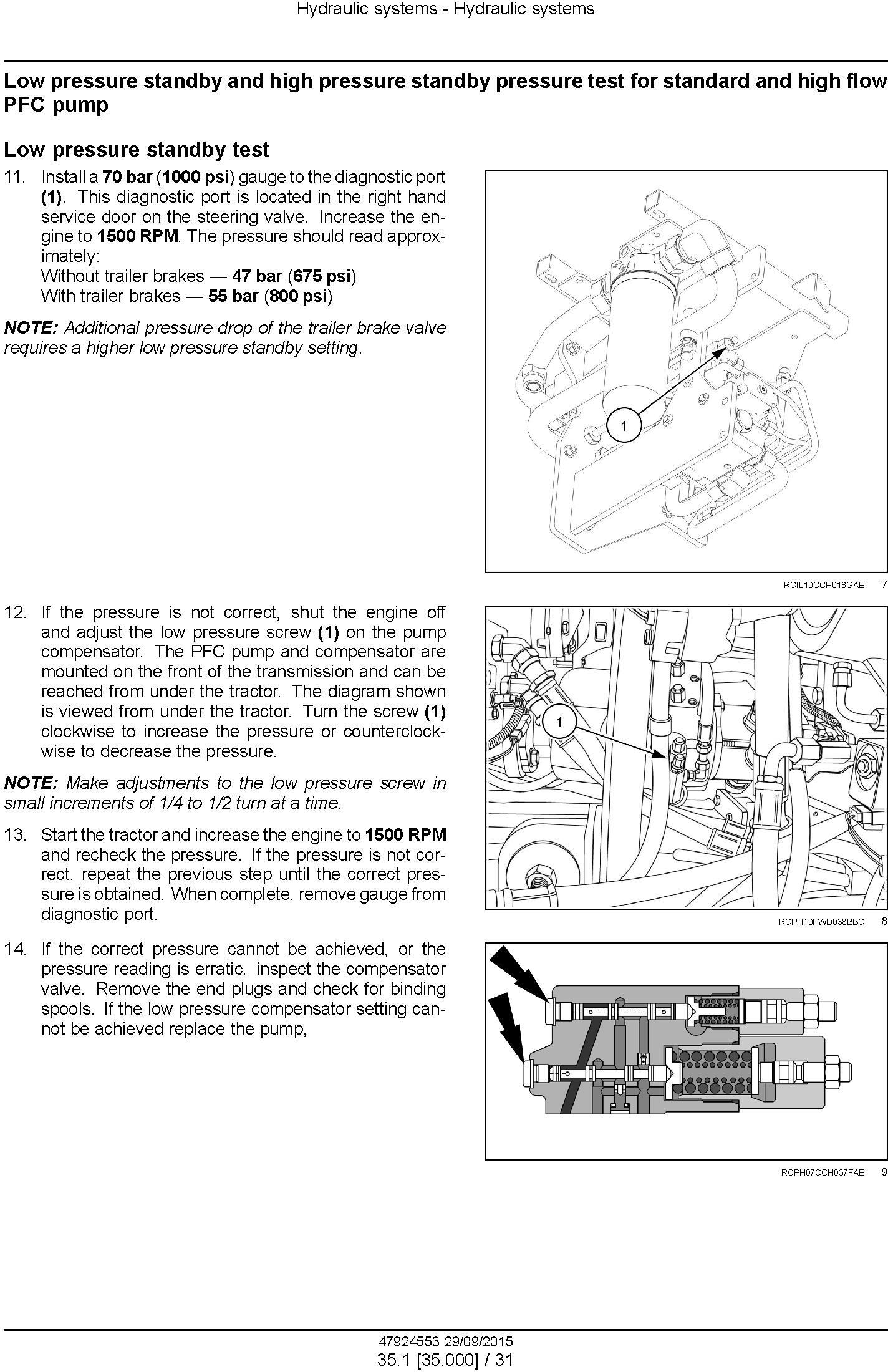 New Holland T9.435, T9.480, T9.530, T9.565, T9.600, T9.645, T9.700 Tractor Service Manual (Europe) - 3